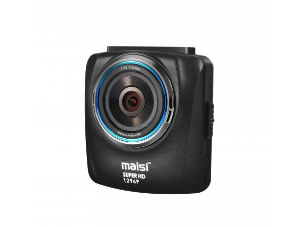 MAISI® E715 In-Car Camcorder with Accident Recorder, HD 1296P Color Black Box Vehicle Camera