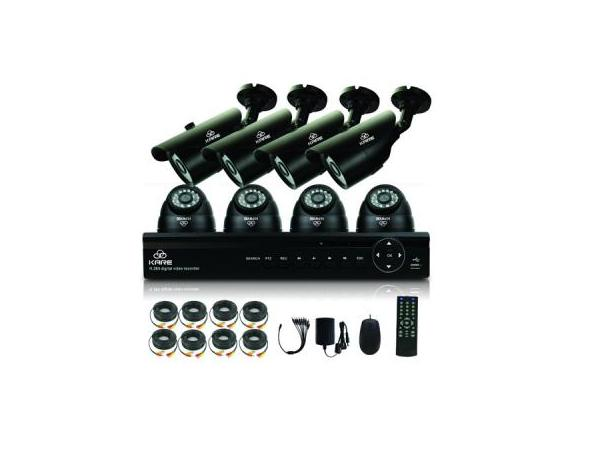 KARE 8CH 1080N CCTV DVR Video Security System with 8x 960P Indoor/Outdoor Camera (P2P Technology, Easy Remote Access,Vandal-Proof Camera Housing,Mobile App: Xmeye) upc, 712319560938